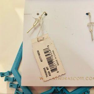 Kendra Scott Jewelry - NWT Kendra Scott Thomas Earrings - Aqua